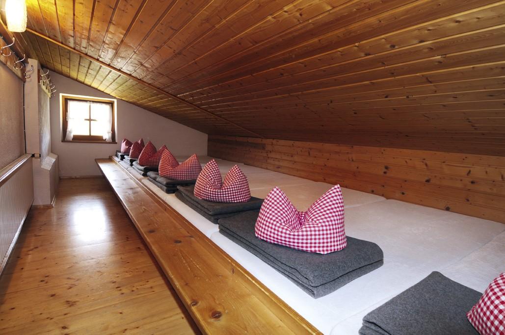 Hüttenübernachtung Bettenlager Winklmoosalm
