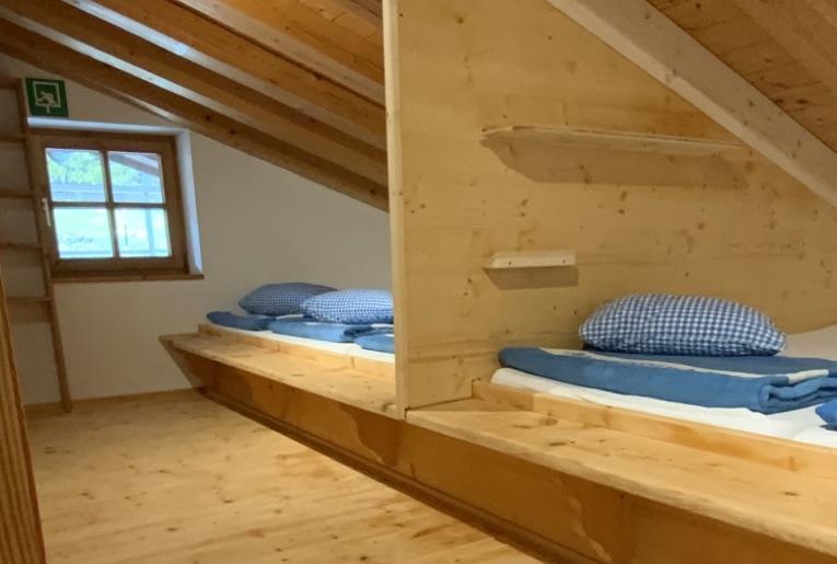 Übernachten auf Berghütte in Bayern